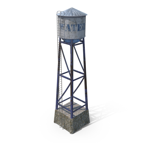 Water Tower PNG & PSD Images