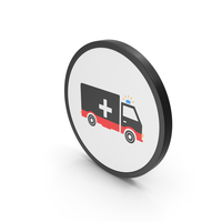 Icon Ambulance Colored PNG & PSD Images