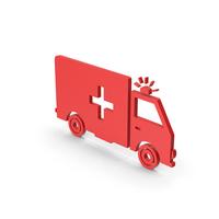 Symbol Ambulance Red PNG & PSD Images