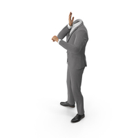 Worried Suit Grey PNG & PSD Images