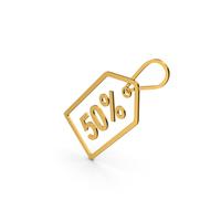 Symbol Sale Label Gold PNG & PSD Images