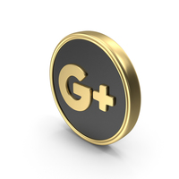 Social media Google Plus Coin Icon PNG & PSD Images