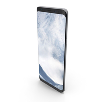Galaxy S8 Plus Arctic Silver PNG & PSD Images