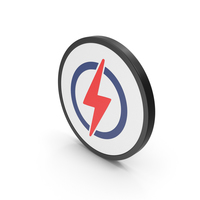 Icon Electricity Colored PNG & PSD Images