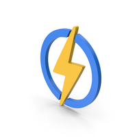 Symbol Electricity Yellow PNG & PSD Images