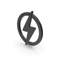 Symbol Electricity Black PNG & PSD Images