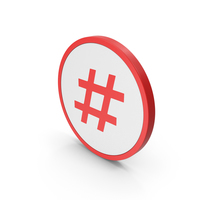 Hashtag Icon PNG & PSD Images