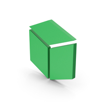 Symbol Cube Green PNG & PSD Images