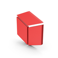 Symbol Cube Red PNG & PSD Images