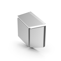 Symbol Cube Silver PNG & PSD Images
