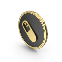 Logo Capsule Gold PNG & PSD Images