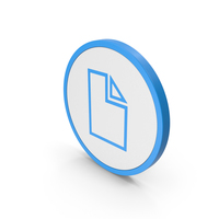 Icon Electronic File Blue PNG & PSD Images