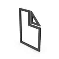 Symbol Electronic File Black PNG & PSD Images
