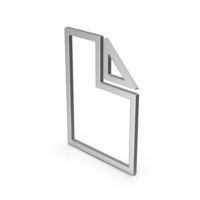 Symbol Electronic File Silver PNG & PSD Images