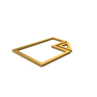 Gold Symbol Electronic File PNG & PSD Images