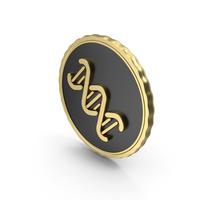 Logo DNA Gold PNG & PSD Images