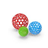 Hollow Balls PNG & PSD Images