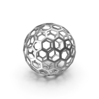 Glow Ball Hex Metal PNG & PSD Images