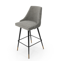 Eichholtz Cedro Barstool PNG & PSD Images