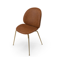 Gubi Beetle Dining Chair PNG & PSD Images