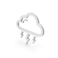 Symbol Weather Thunderstorm PNG & PSD Images