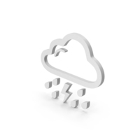 Symbol Rain And Thunderstorm PNG & PSD Images