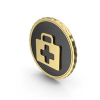 Logo Medical kit Gold PNG & PSD Images