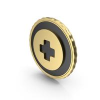 Logo Medical Plus Gold PNG & PSD Images