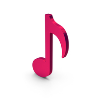 Symbol Music Note Metallic PNG & PSD Images