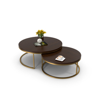 Kanta Nested Coffee Tables Boydblue PNG & PSD Images