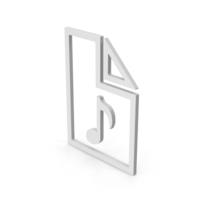 Symbol Audio File PNG & PSD Images
