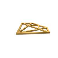 Gold Symbol Diamond PNG & PSD Images
