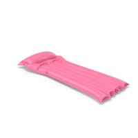 Pink Lilo Inflatable Mattress PNG & PSD Images
