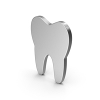 Symbol Tooth Silver PNG & PSD Images