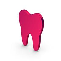 Symbol Tooth Metallic PNG & PSD Images