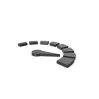 Black Symbol Speedometer PNG & PSD Images