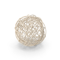Wire Rattan Ball PNG & PSD Images