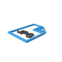 Blue Symbol JPG File PNG & PSD Images