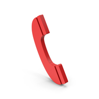 Symbol Phone Call Red PNG & PSD Images