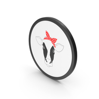 Icon Cow PNG & PSD Images