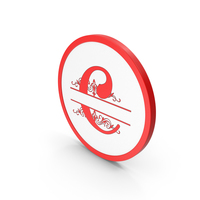 Icon Red Letter C PNG & PSD Images