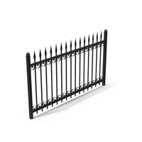 Wrought Fence PNG & PSD Images