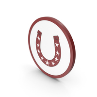 Icon Horseshoe With Stars PNG & PSD Images