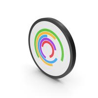 Icon Circular Chart PNG & PSD Images