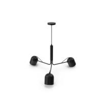 Liang Pendant Lamp Metal Black PNG & PSD Images