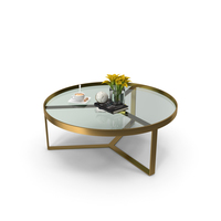 Made Aula coffee table & Side Table PNG & PSD Images