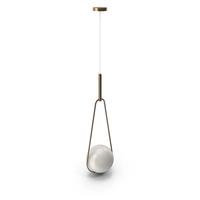 Pendant Lamp Loop Brass PNG & PSD Images