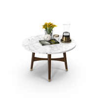 Reeve Mid-Century Coffee Table West Elm PNG & PSD Images
