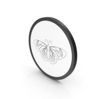 Icon Butterfly PNG & PSD Images