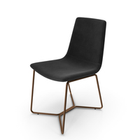 Slope Upholstered Dining Chair PNG & PSD Images